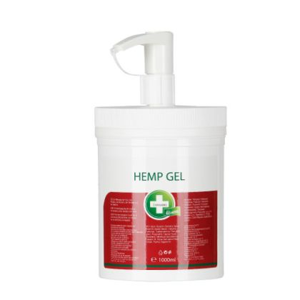 Hemp gel 1L - hemp massage gel
